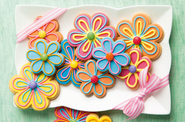 Flower Cookies Recipe Goodtoknow