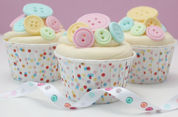 How To Make Button Cake Decorations