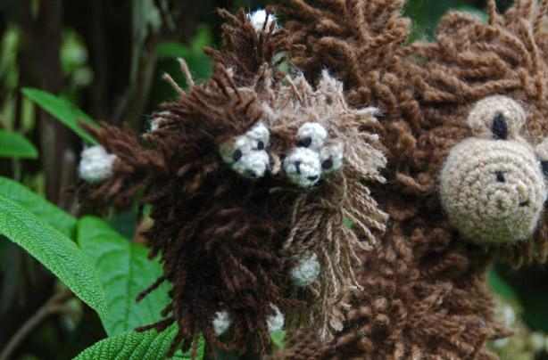 Orangutan Toy Crochet Pattern