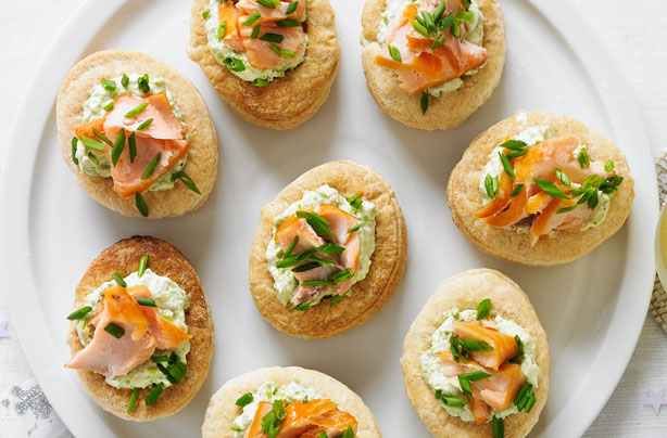 Smoked Salmon And Pea Vol Au Vents Recipes Goodtoknow