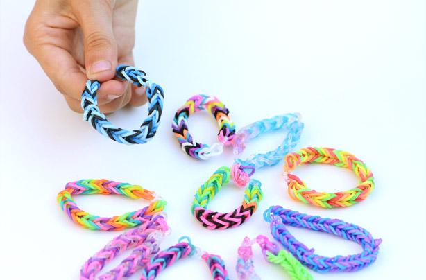 loom bands designs fingers