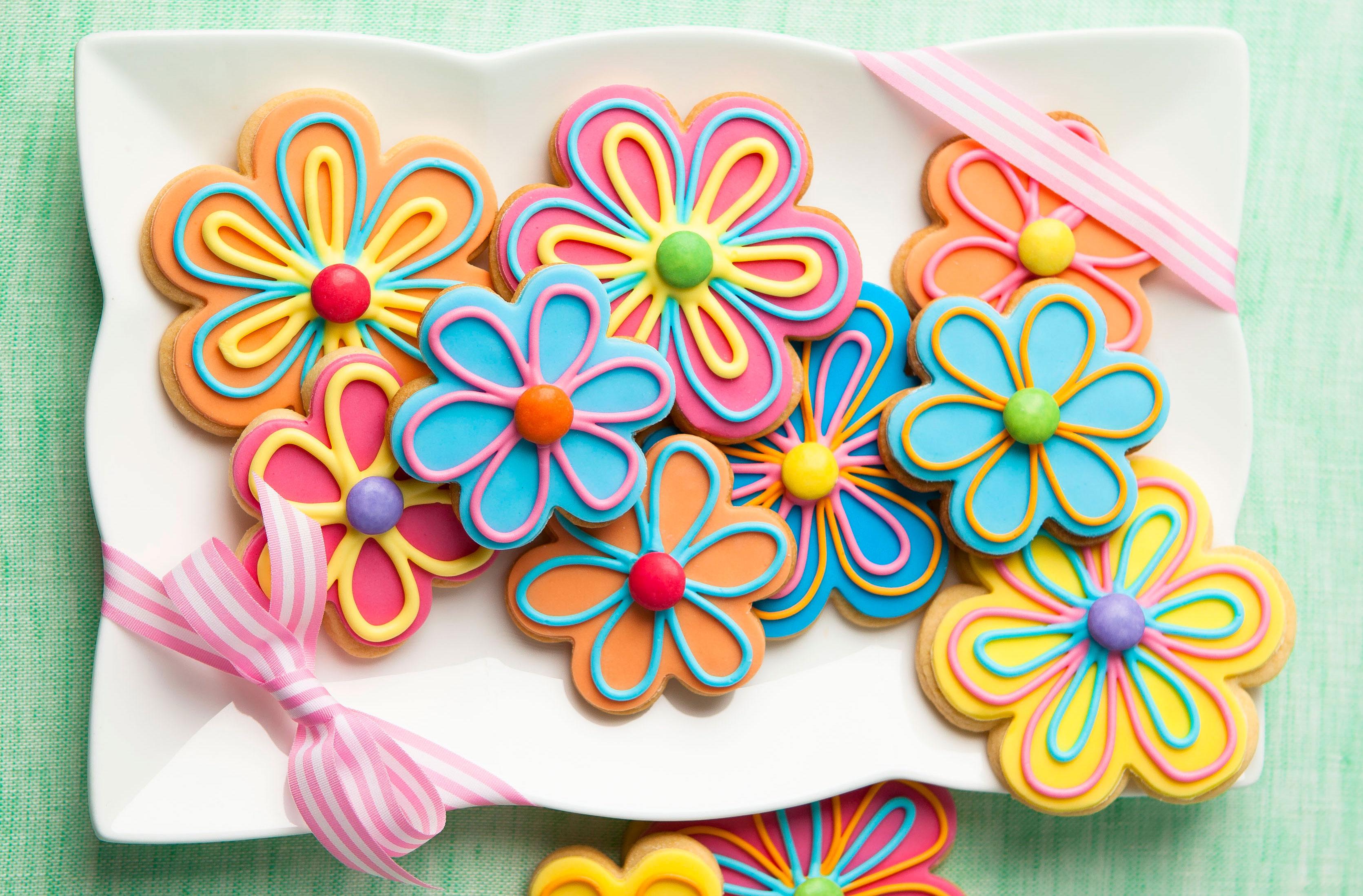 Flower Cookies Recipes Goodtoknow