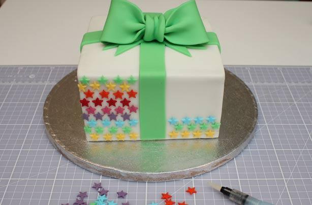Groovy Birthday Present Cake Funny Birthday Cards Online Chimdamsfinfo