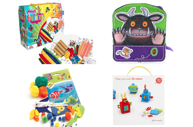 Craft kits for kids goodtoknow for Arts and crafts sets for kids