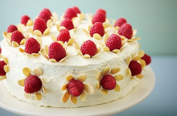 Lorraine Raspberry Whote Chocolate Cake