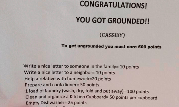 13 hilariously creative punishments every parent should know