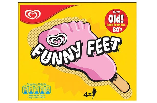 Retro Ice Lollies From Our Childhood