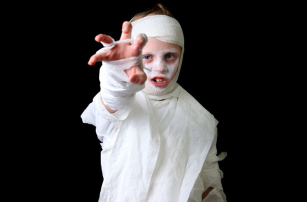 Make your own Halloween costumes Mummy costume  sc 1 st  GoodtoKnow & 8 homemade kidsu0027 Halloween costumes you can actually make yourself ...