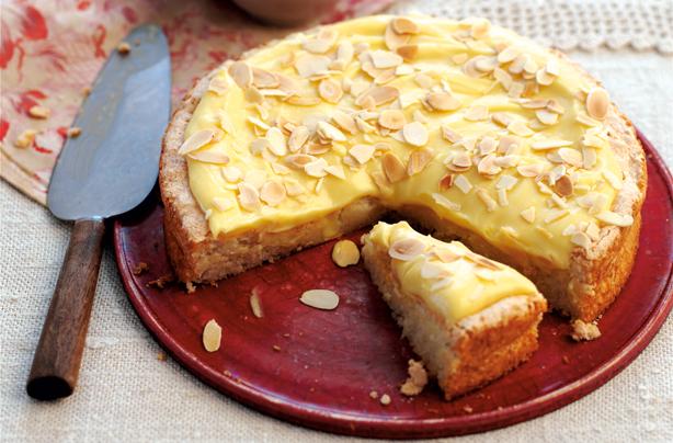 Swedish Vanilla And Almond Cake Recipe Goodtoknow
