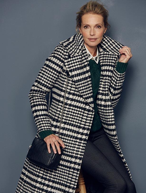 Shawl Collar Coat, £99
