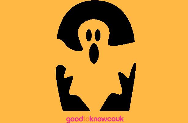 Free pumpkin carving patterns goodtoknow ghost halloween pumpkin carving template maxwellsz