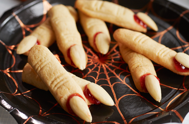 Make your own witches fingers with our creepy dough sticks recipe