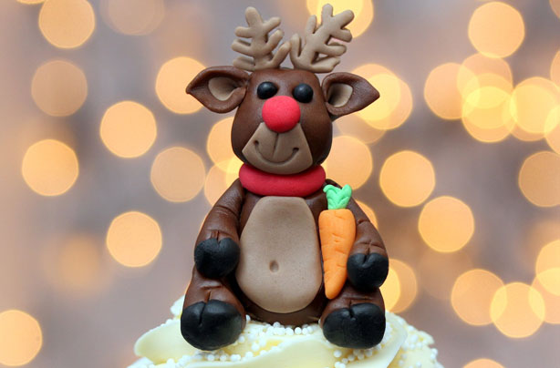 rudolph cake decorations
