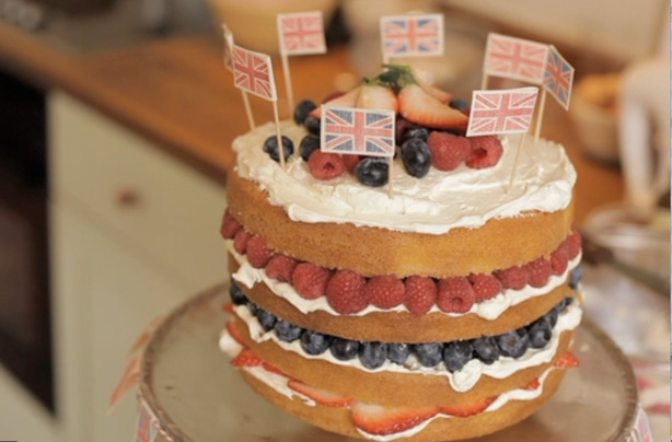Fiona Cairns Victoria Sponge With Summer Berries Recipe