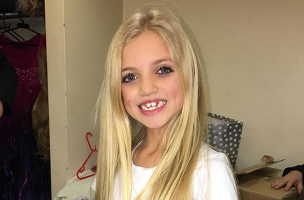 Katie Price Signs Eight Year Old Daughter Princess Up To A