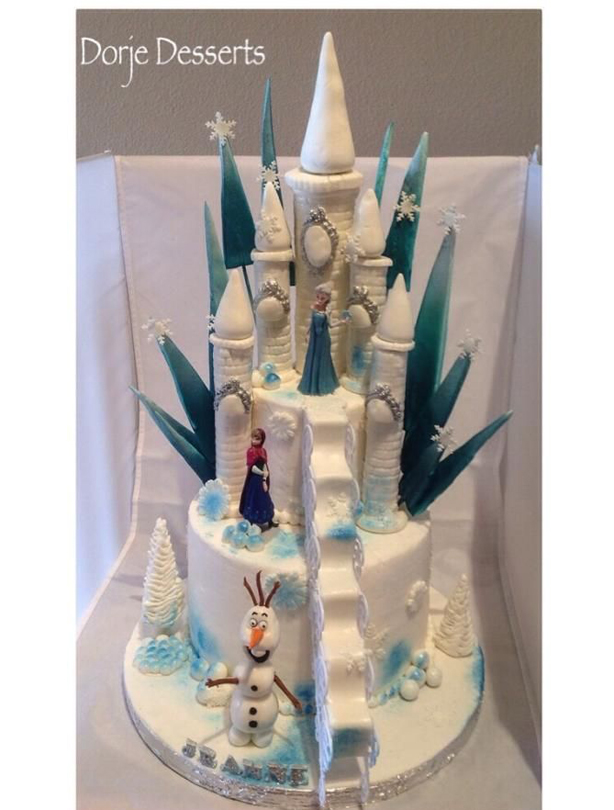 Fantastic Frozen Birthday Cake Ideas Funny Birthday Cards Online Overcheapnameinfo