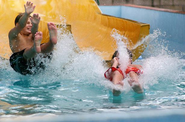 Best uk holidays for rainy and bad weather - Bad homburg swimming pool ...