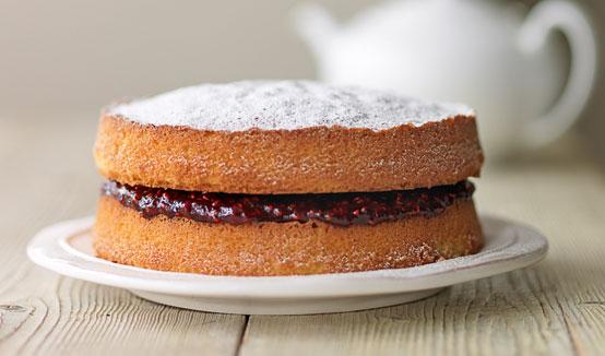 Easy Chocolate Sponge Cake Recipe Joy Of Baking: Rosemary Shrager's Victoria Sponge Cake