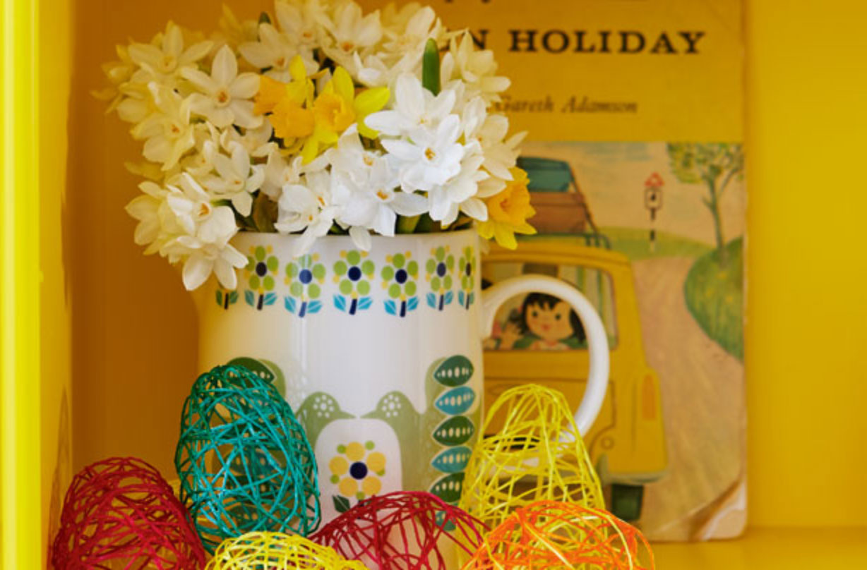 easter crafts for kids: how to make easter silly string
