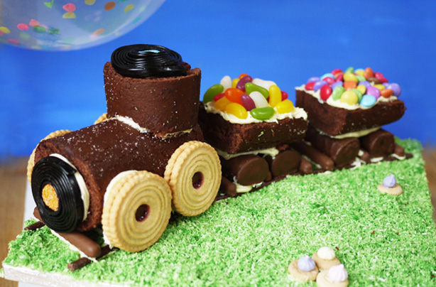 Childrens Chocolate Birthday Cake