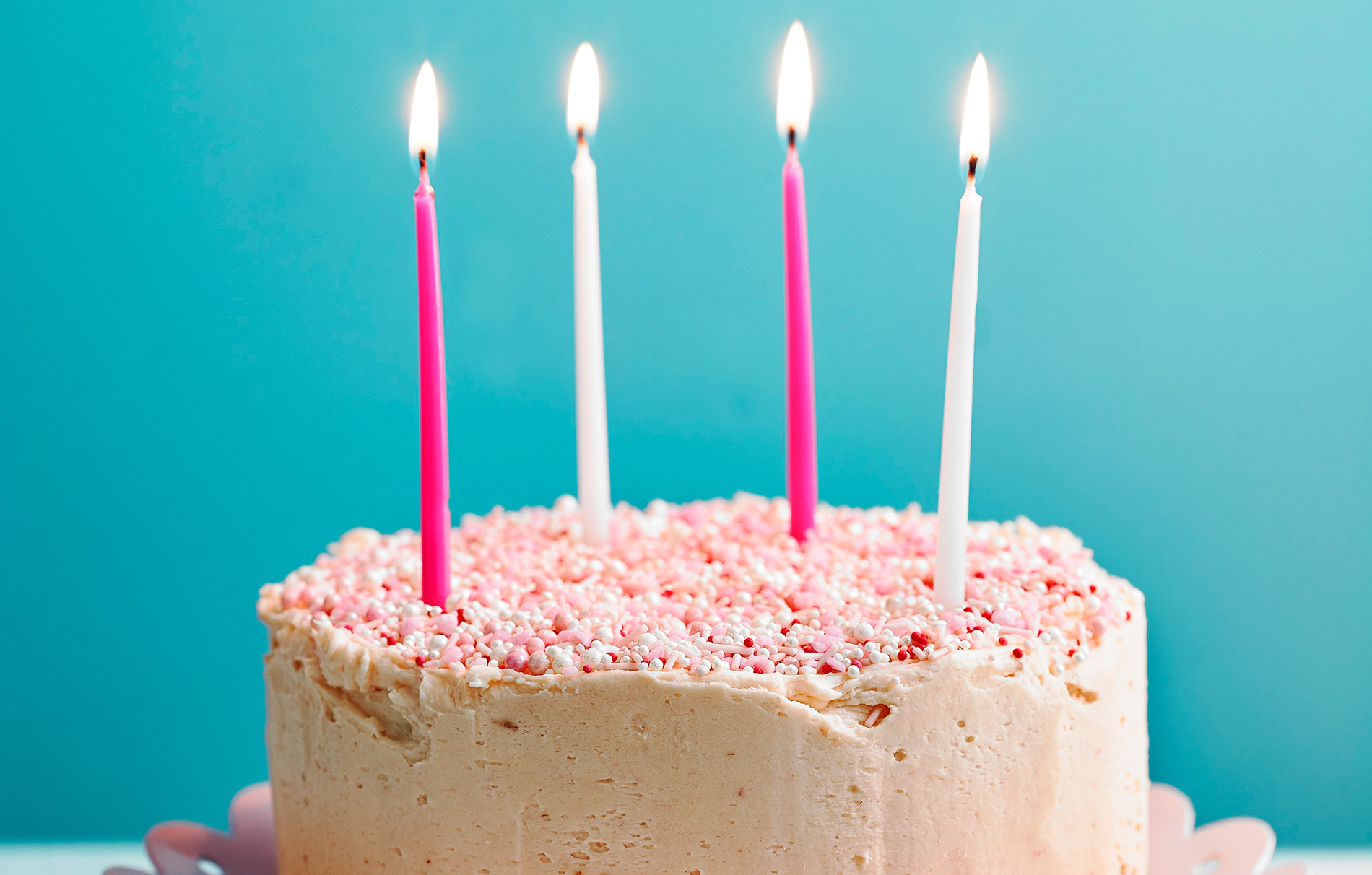 Astounding Nadiya Hussains Confetti Birthday Cake Baking Recipes Goodtoknow Funny Birthday Cards Online Elaedamsfinfo