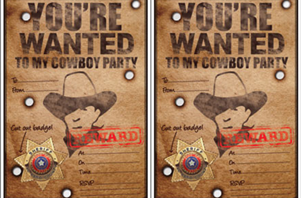 Free Printable Cowboy Party Invitations Buckle Up This Invite Will Have All The Wild Ones From West Flooding To Your Door