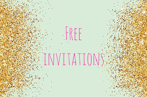 FREE Printable Childrens Birthday Party Invitations