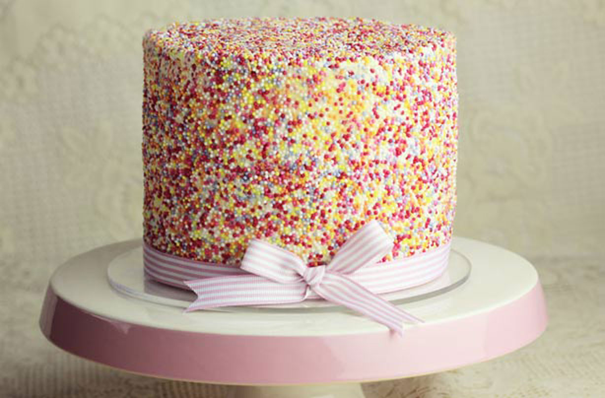 Stupendous How To Make A Sprinkle Cake For Your Next Special Occasion Personalised Birthday Cards Epsylily Jamesorg