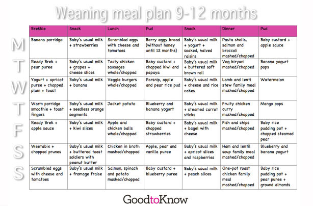 Baby weaning guide: Everything you need to know about
