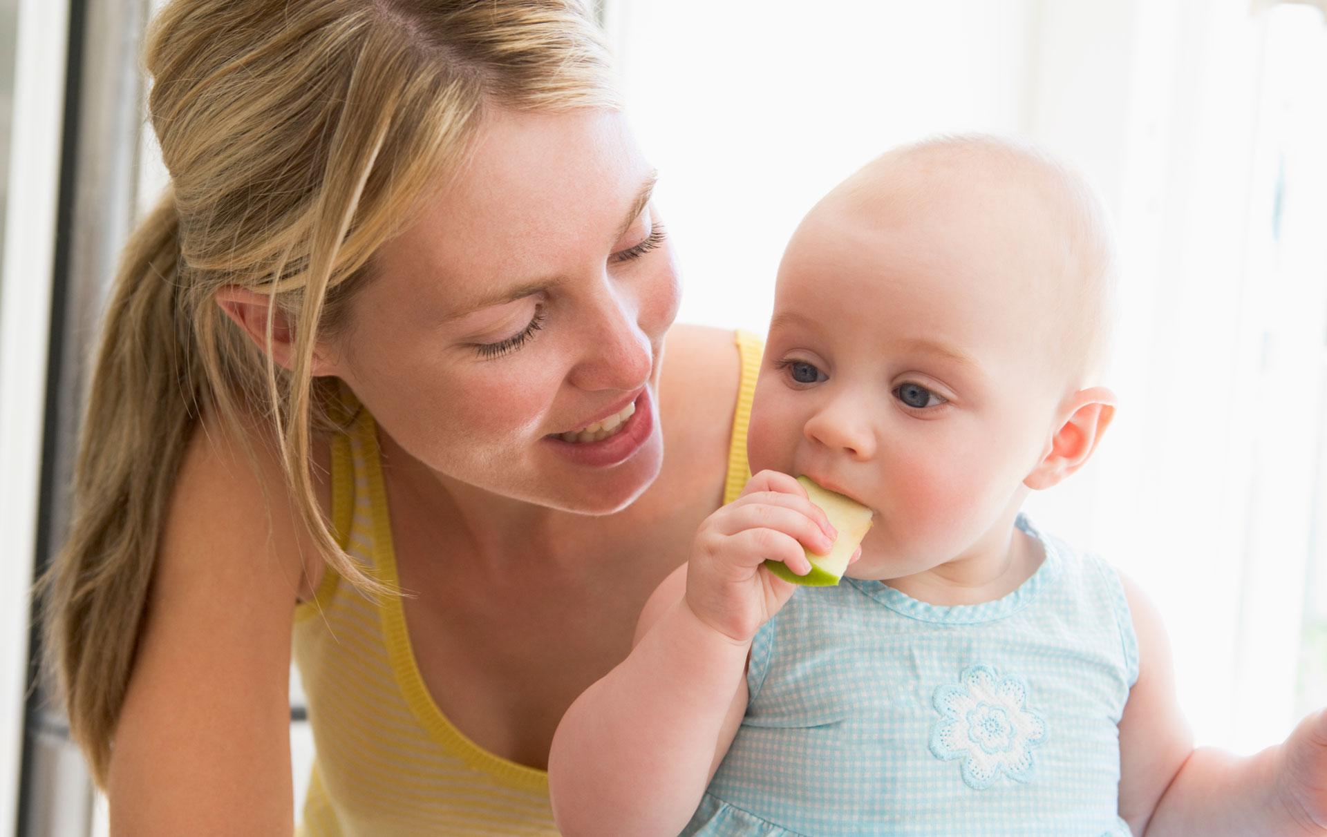 Baby-led weaning (BLW)
