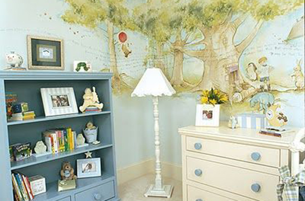2. This Adorable Winnie The Pooh Nursery