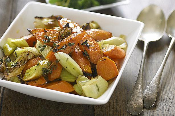 Roasted Leeks And Carrots Recipe Goodtoknow