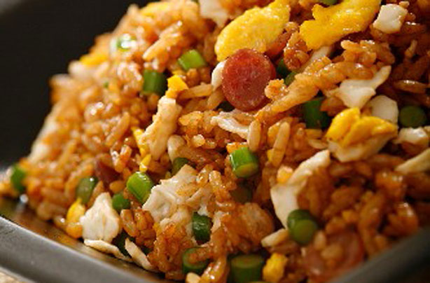 Sausage fried rice recipe goodtoknow sausage fried rice recipe ccuart Image collections