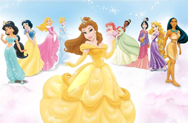 Images of disney princess with names