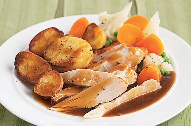 slimming worlds roast dinner recipe goodtoknow