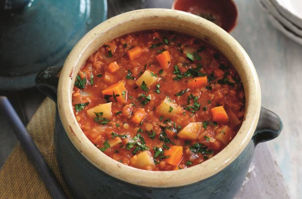 Slimming Worlds Tomato Lentil And Vegetable Soup
