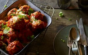 Joe Wicks' big beefy meatballs