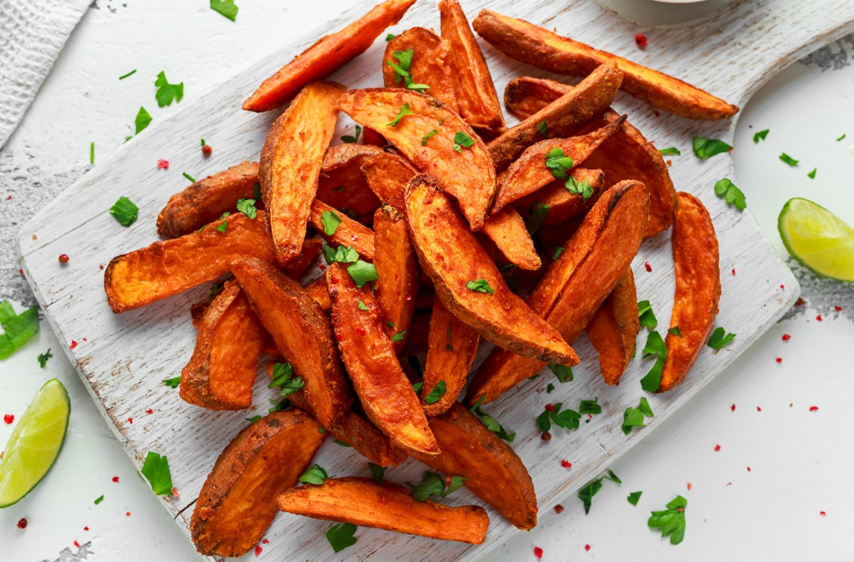 Sweet Potato Wedges Dinner Recipes Goodtoknow