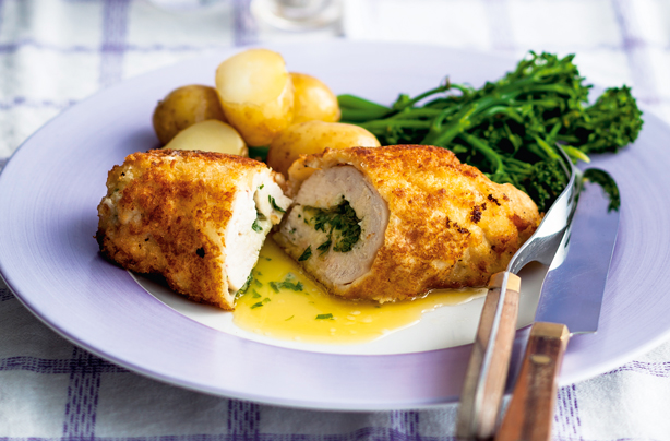 Easy Chicken Kiev Recipes Goodtoknow