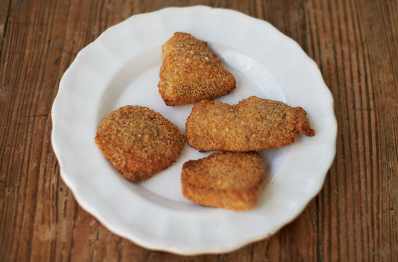 Jamie Olivers Proper Chicken Nuggets Sweet Paprika Parmesan Crumb