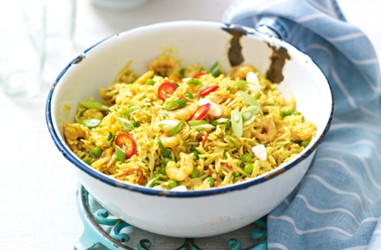 Singapore Egg Fried Rice Dinner Recipes Goodtoknow