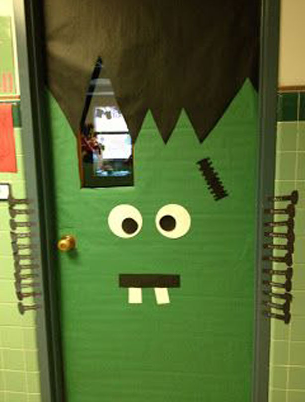 Monster door & Halloween party ideas: Monster Doors | GoodtoKnow