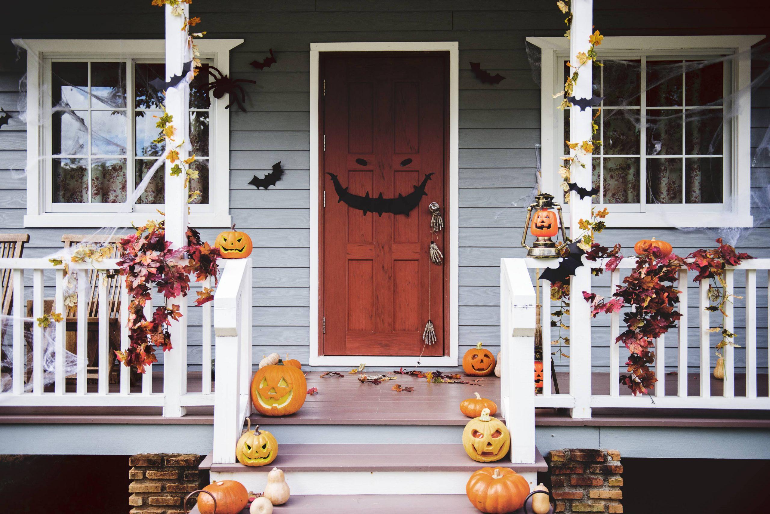 Halloween party ideas | monster doors