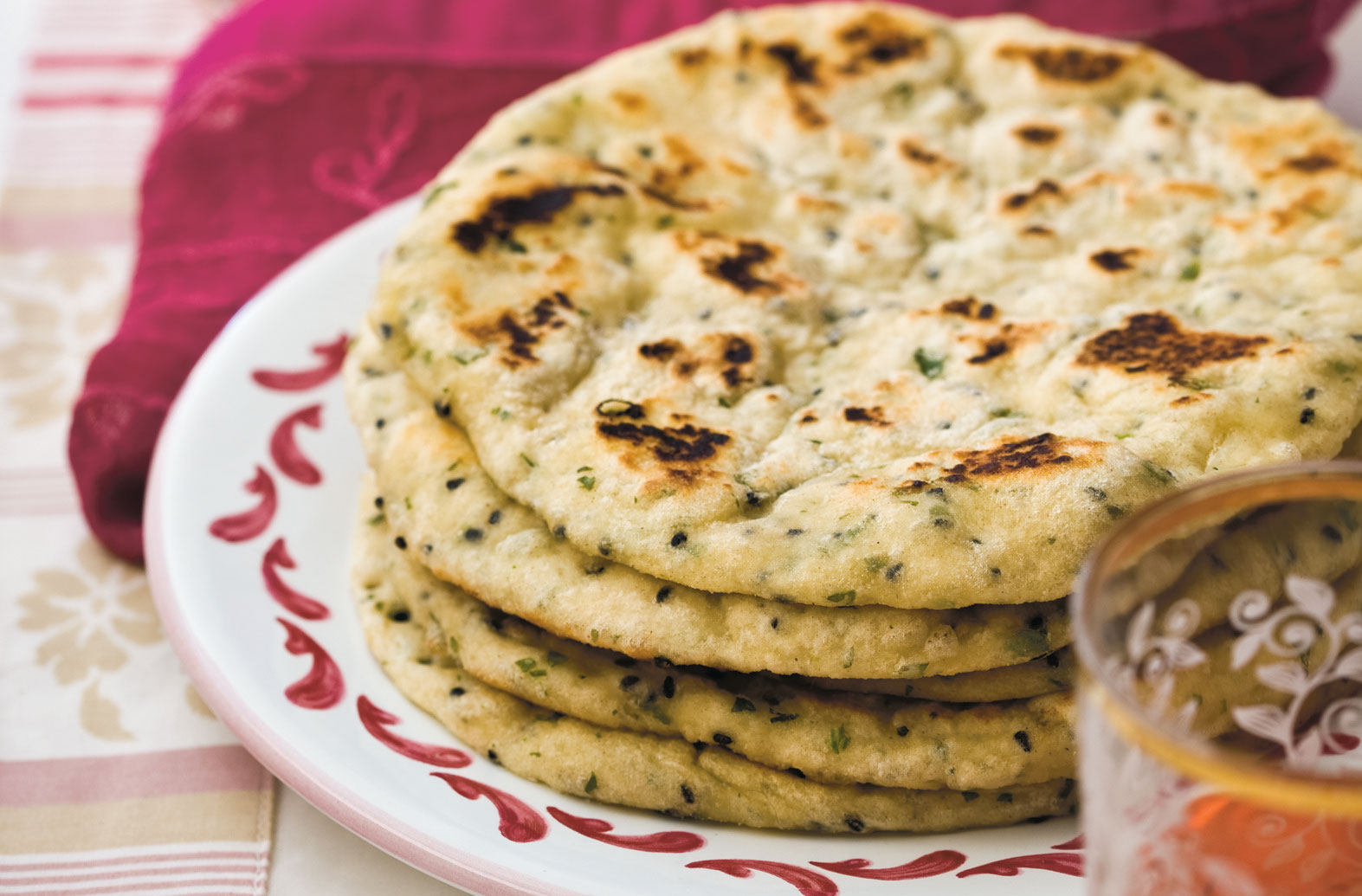 Learn how to master making naan bread at home