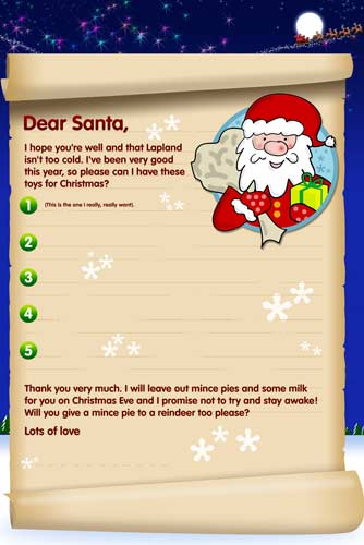 download your free santa letter here
