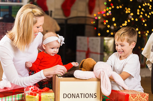 Charitable Christmas Ideas How To Give Back With Your Family