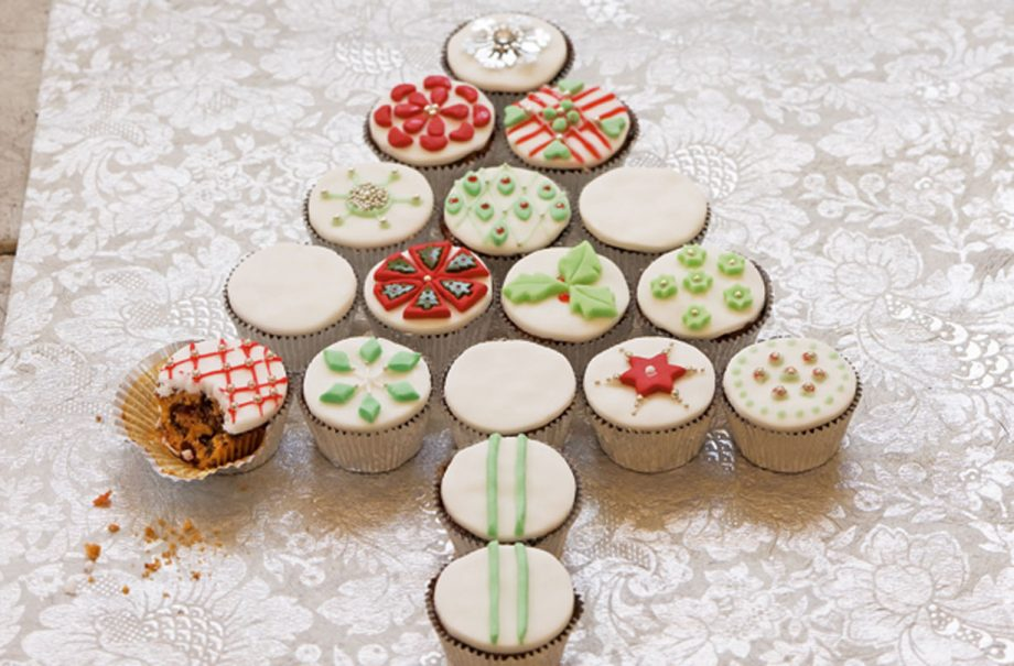 Festive Fruit Cupcakes Dessert Recipes Goodtoknow