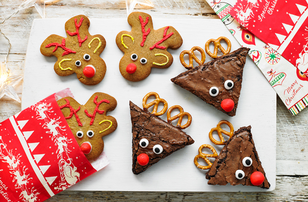 Christmas Hacks How To Turn Your Favourite Bakes Into Reindeer