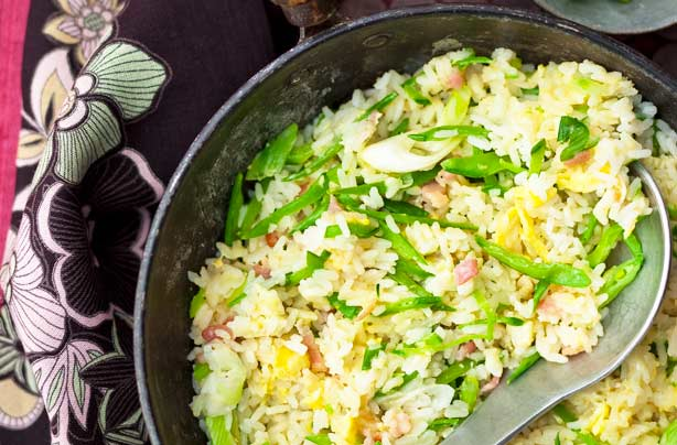 Chinese new year menu goodtoknow side egg fried rice ccuart Images