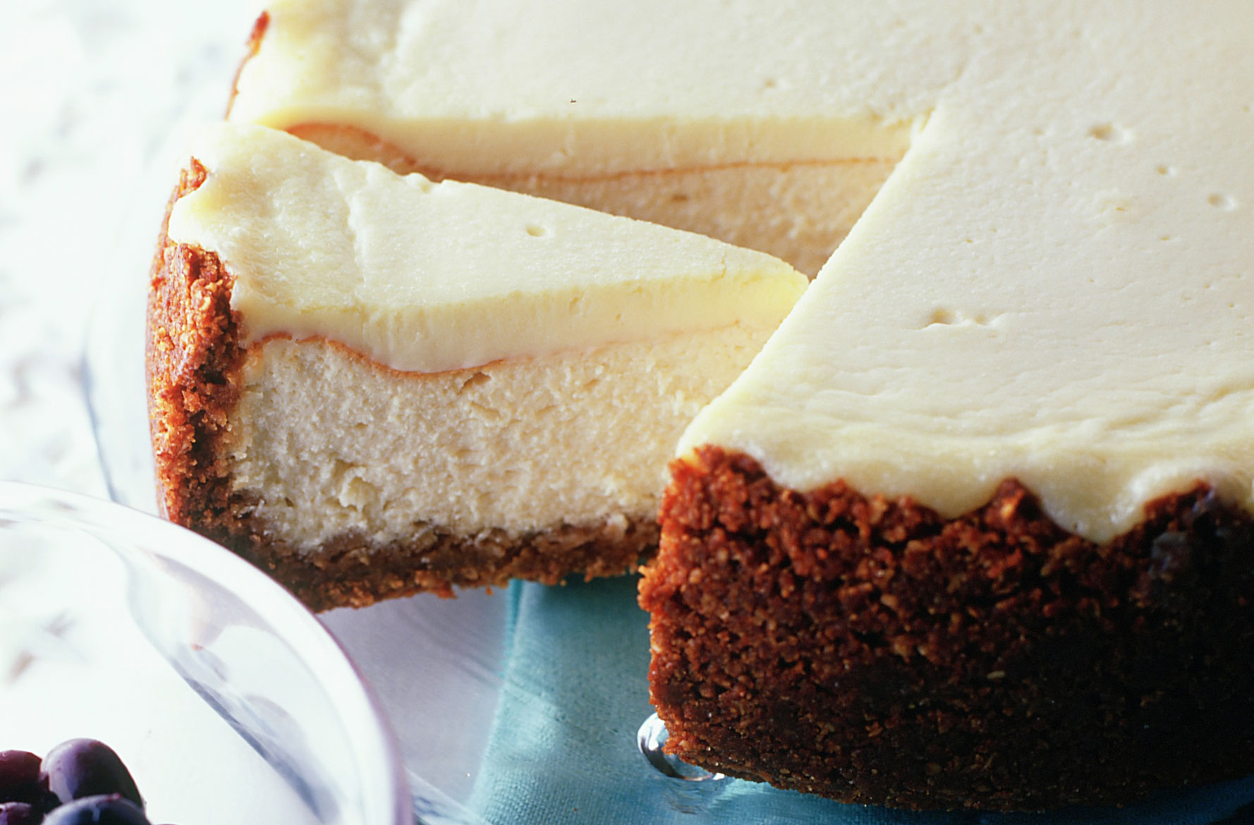 American Baked Cheesecake American Recipes Goodtoknow
